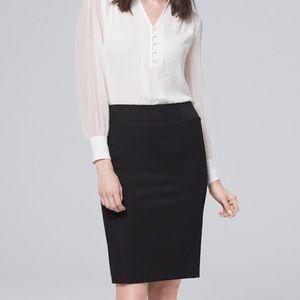 White House Black Market Stretchy Skirt Size 10